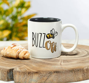 BUZZ OFF COFFEE MUG
