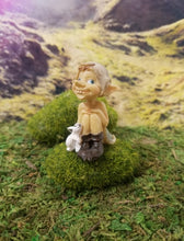 Load image into Gallery viewer, Garden Pixie with Bunny