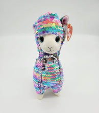 "Load image into Gallery viewer, ""Lola the Llama"" Ty flippables sequin plush"