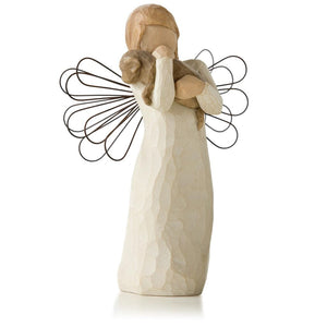 Willow Tree Angel of Friendship Animal Lover Figurine