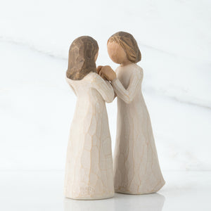 """Sisters by Heart"" Willow Tree Angel"