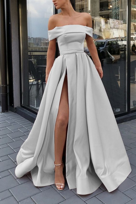 Off Shoulder Long Prom Dress, Dresses For Event, Evening Dress ,Formal Gown, Graduation Party Dress TDP1248