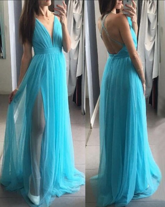 Sexy Long Prom Dress, Dresses For Event, Evening Dress ,Formal Gown, Graduation Party Dress TDP1249