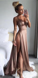 Sexy Prom Dress Slit Skirt, Dresses For Event, Evening Dress ,Formal Gown, Graduation Party Dress TDP1153