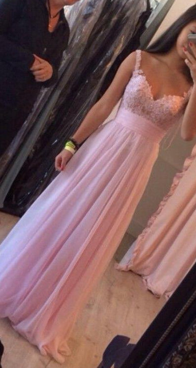 Pink Prom Dress, Dresses For Event, Evening Dress,Formal Gown,Graduation Party Dress TDP1020