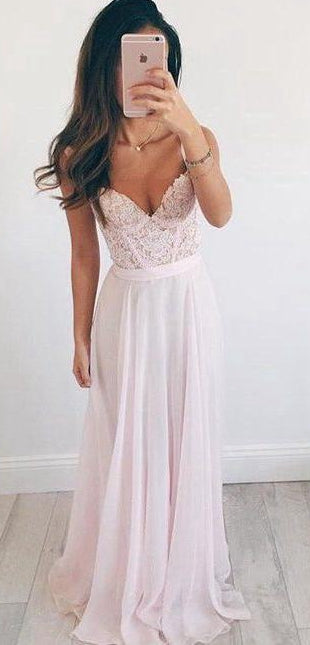 Light Pink Prom Dress, Dresses For Event, Evening Dress,Formal Gown,Graduation Party Dress TDP1040