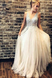 Fashion Prom Dress V Neckline, Dresses For Event, Evening Dress ,Formal Gown, Graduation Party Dress TDP1174