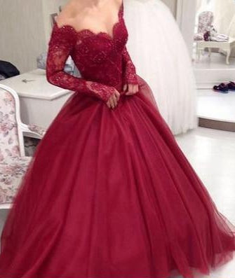 Princess Prom Dress, Sweet 16 Dress,Dresses For Event, Evening Dress ,Formal Gown, Graduation Party Dress TDP1099