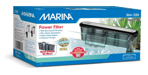 Marina Slim Power Filter - S20 (up to 80 ltr aquariums)