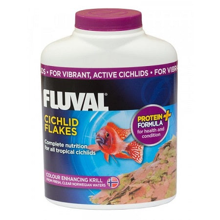 FLUVAL CICHLID FLAKES 125GM/750ML