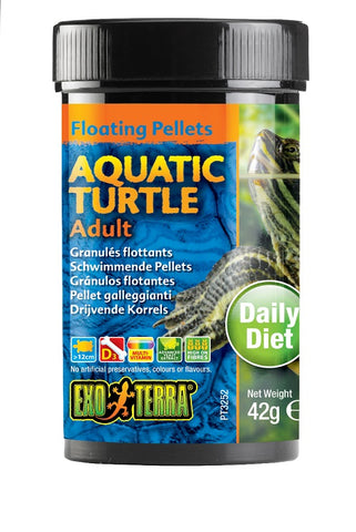 EXO TERRA AQUATIC TURTLE FOOD ADULT 42GM