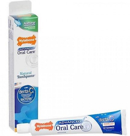 TOOTHPASTE NYLABONE ORAL CARE NATURAL 70G peanut butter flavour