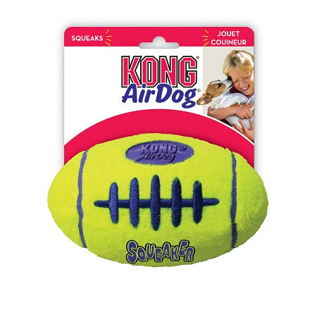 KONG AIRDOG SQUEAKER FOOTBALL LARGE ASFB1
