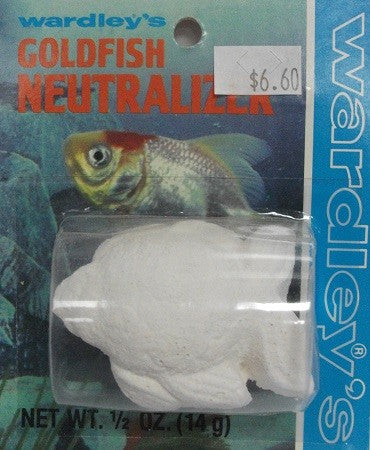 WARDLEY GOLDFISH NEUTRALIZER BLOCK 14G