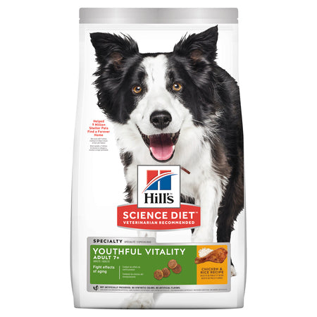 HILLS ADULT 7+ YOUTHFUL VITALITY 5.67KG CANINE