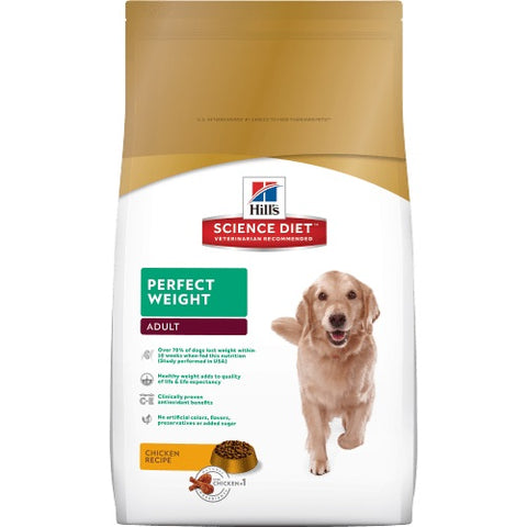 HILLS CANINE ADULT PERFECT WEIGHT 1.8KG