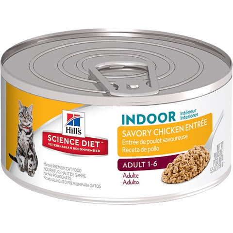 HILLS FELINE ADULT INDOOR CAT CAN 156G