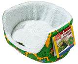 LIVING WORLD FERRET COZY BED GR/30X25X14