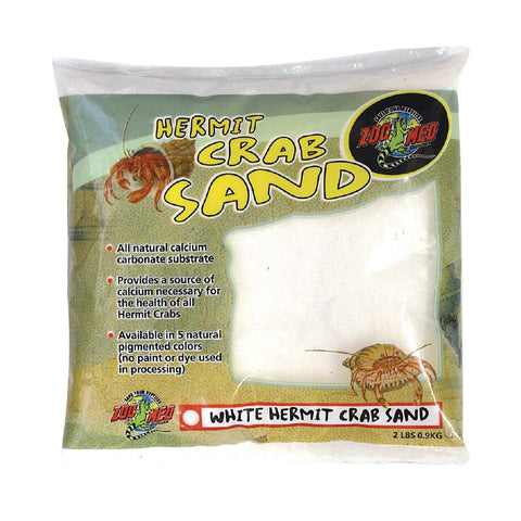 HERMIT CRAB SAND WHITE ZOO MED