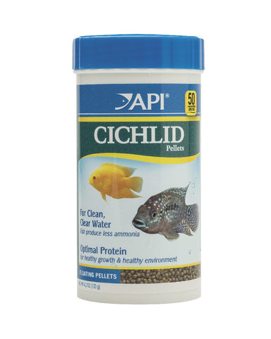 API - Cichlid Pellets Medium 120gm