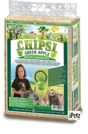 CHIPSI PLUS GREEN APPLE 60L (3.4KG)