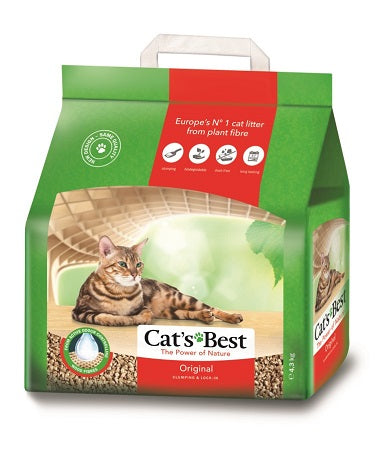 LITTER CATS BEST OKOPLUS 4.3KG