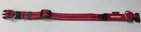 EZYDOG COLLAR DOUBLE UP M RED
