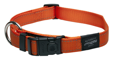 LUMBERJACK COLLAR ORANGE