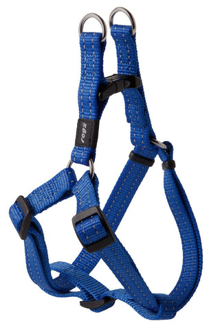 SNAKE STEP IN HARNESS BLUE