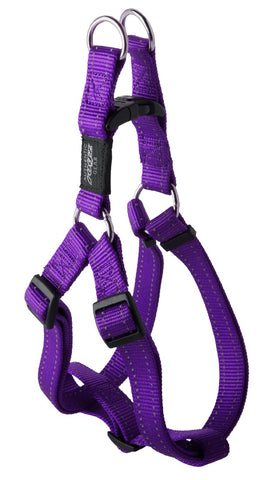 FANBELT STEP IN HARNESS PURPLE