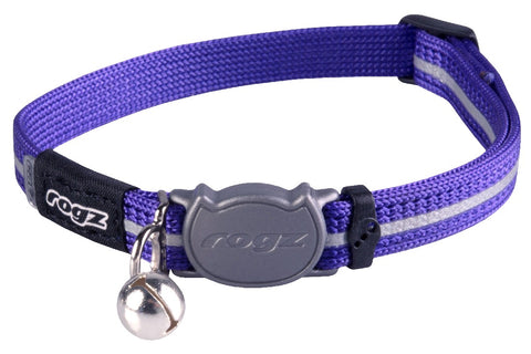 ALLEYCAT SAFELOCK COLLAR PURPLE 11MM