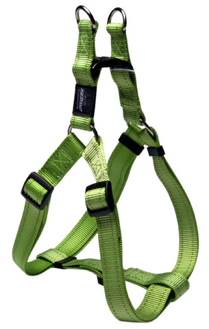 LUMBERJACK STEP IN HARNESS LIME