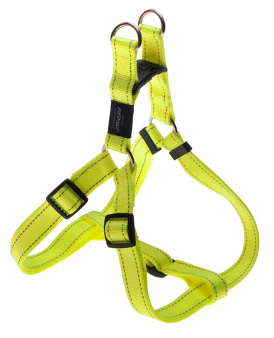 LUMBERJACK STEP IN HARNESS DAYGLOW YELLOW