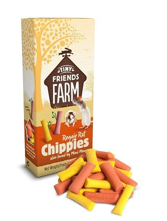 TINY FRIENDS FARM RAT/MICE CHIPPIES 120G