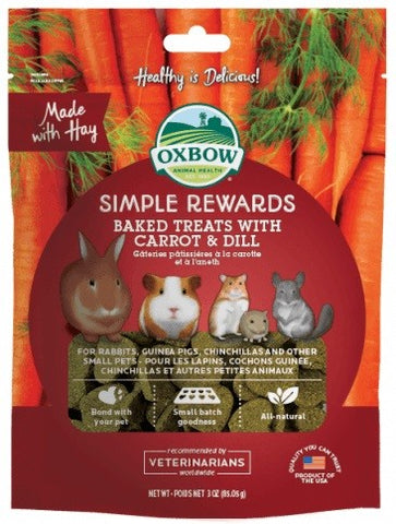 OX BOW SIMPLE REWARD CARROT/DILL 60G