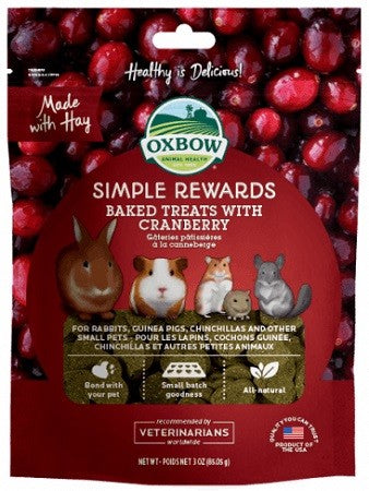OX BOW SIMPLE REWARD CRANBERRY 60G
