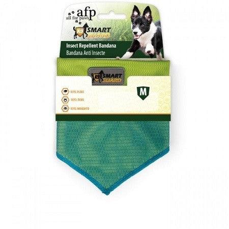 Smart Guard Insect Repellent Bandana Green Medium