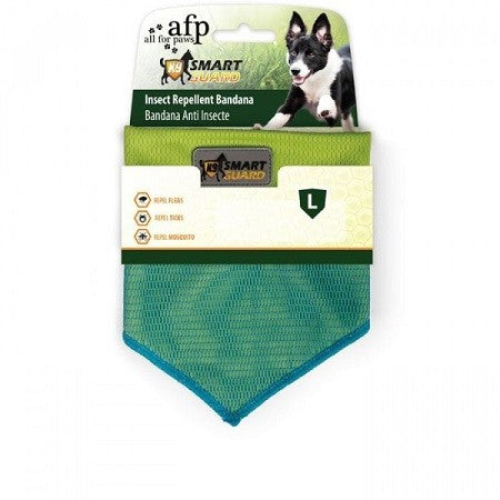 Smart Guard Insect Repellent Bandana Green Large