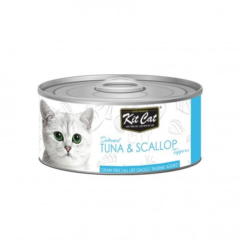 Kit Cat Tuna & Scallop Cat Food 80gm