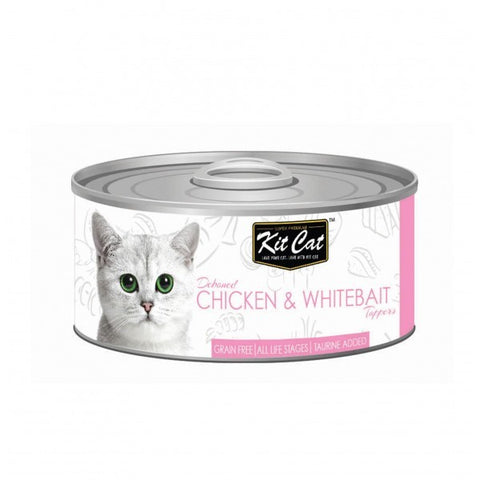 Kit Cat Chicken & Whitebait Cat Food 80gm