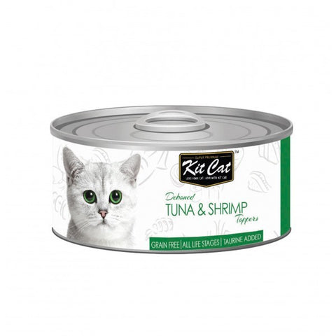 Kit Cat Tuna & Shrimp Cat Food 80gm