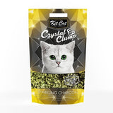 Kit Cat Crystal Clump Sparkling Charcoal 1.8 kg (4 ltr)
