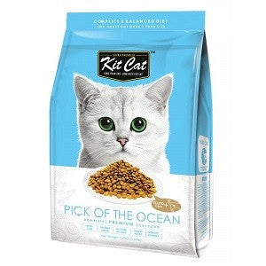 KIT CAT PREMIUM CAT FOOD PICK OF THE OCEAN 1.2K