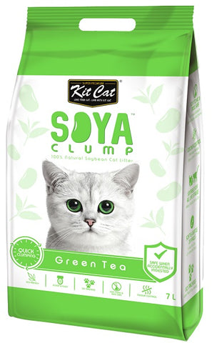 Kit Cat Soya Clump Litter Green Tea 7Ltr