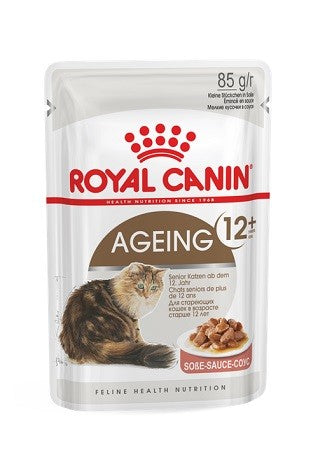 ROYAL CANIN AGEING + 12 IN GRAVY 85G