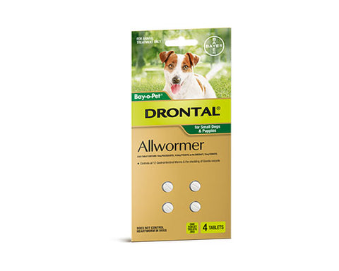 DRONTAL PUPPY SML DOG 3KG