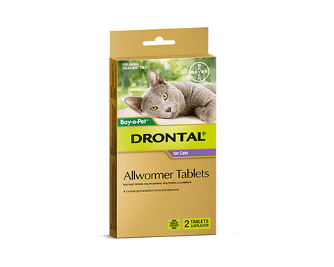 DRONTAL CAT 2 TAB