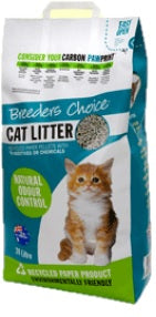 BREEDERS CHOICE CAT LITTER 30LT