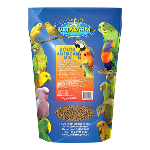 VETAFARM SOUTH AMERICAN MIX 2KG