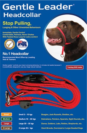 Beau Pets GENTLE LEADER HEAD COLLAR BLACK LARGE